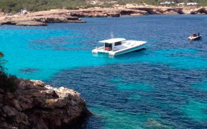 excursión en barco a La Granadella - Dénia