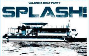 fiesta catamaran splash en Valencia