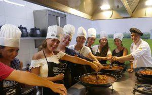 fiesta y curso de paellas en Valencia