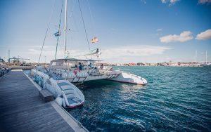 mini crucero en catamarán desde el puero de Dénia hasta el puerto de Jávea