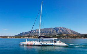 paseo en catamarán por la bahía de Dénia